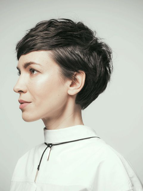 Haarschnitt Sidecut Frisuren 2019 Frauen Kurz Sidecut