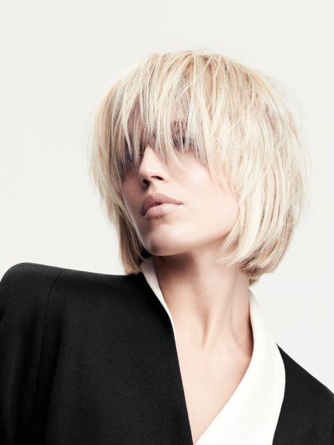 Unsere top 20 blonden kurzhaarfrisuren platz 17 - Bob frisuren gestuft ...