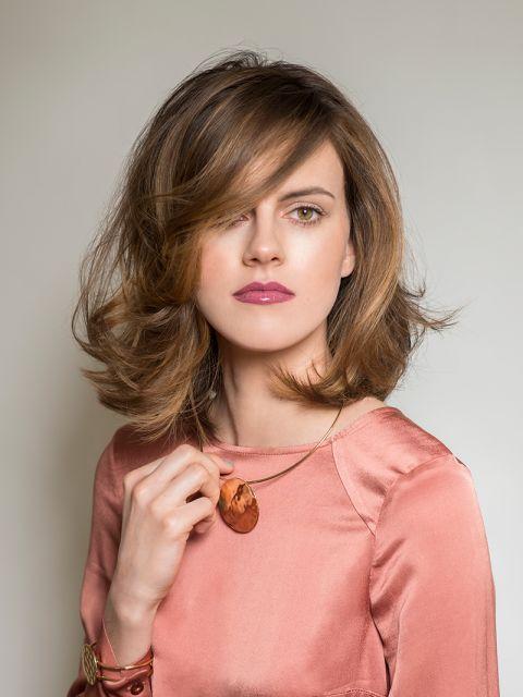 Unsere Top 25 Frisuren Für Wellige Haare Platz 7