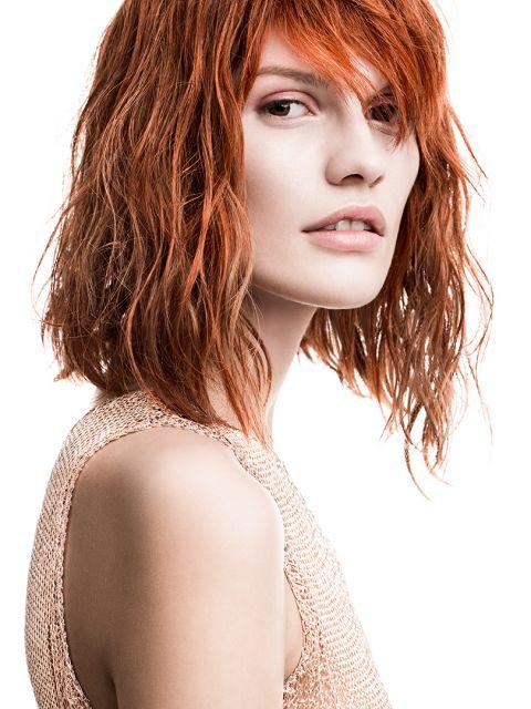 Frisuren Schulterlang Wellig Haarschnitte Beliebt In Europa