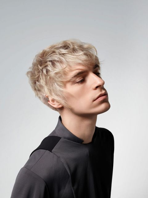 Frisuren mann blond