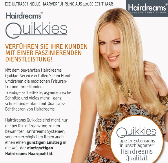 Hairdreams Quikkies Die Ultraschnelle Haarverfhrung Aus 100