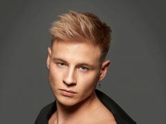 Haare jungs blonde Lange Blonde