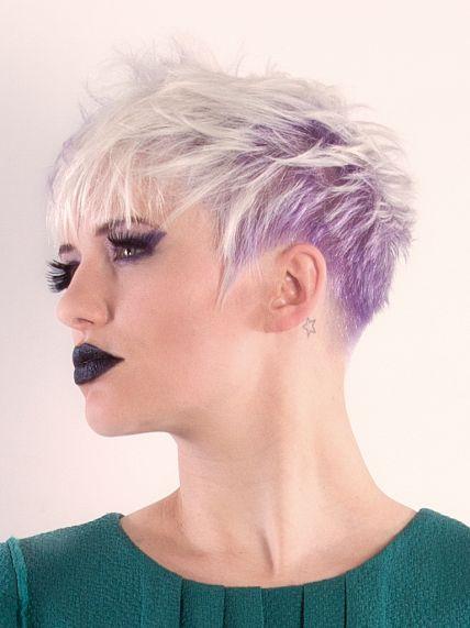 Frisuren mittellang zweifarbig