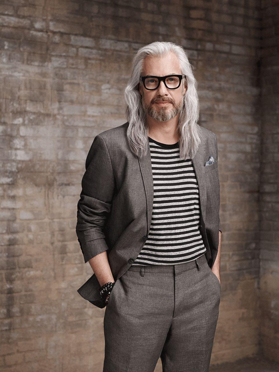Männer graue trend haare Graue Haare: