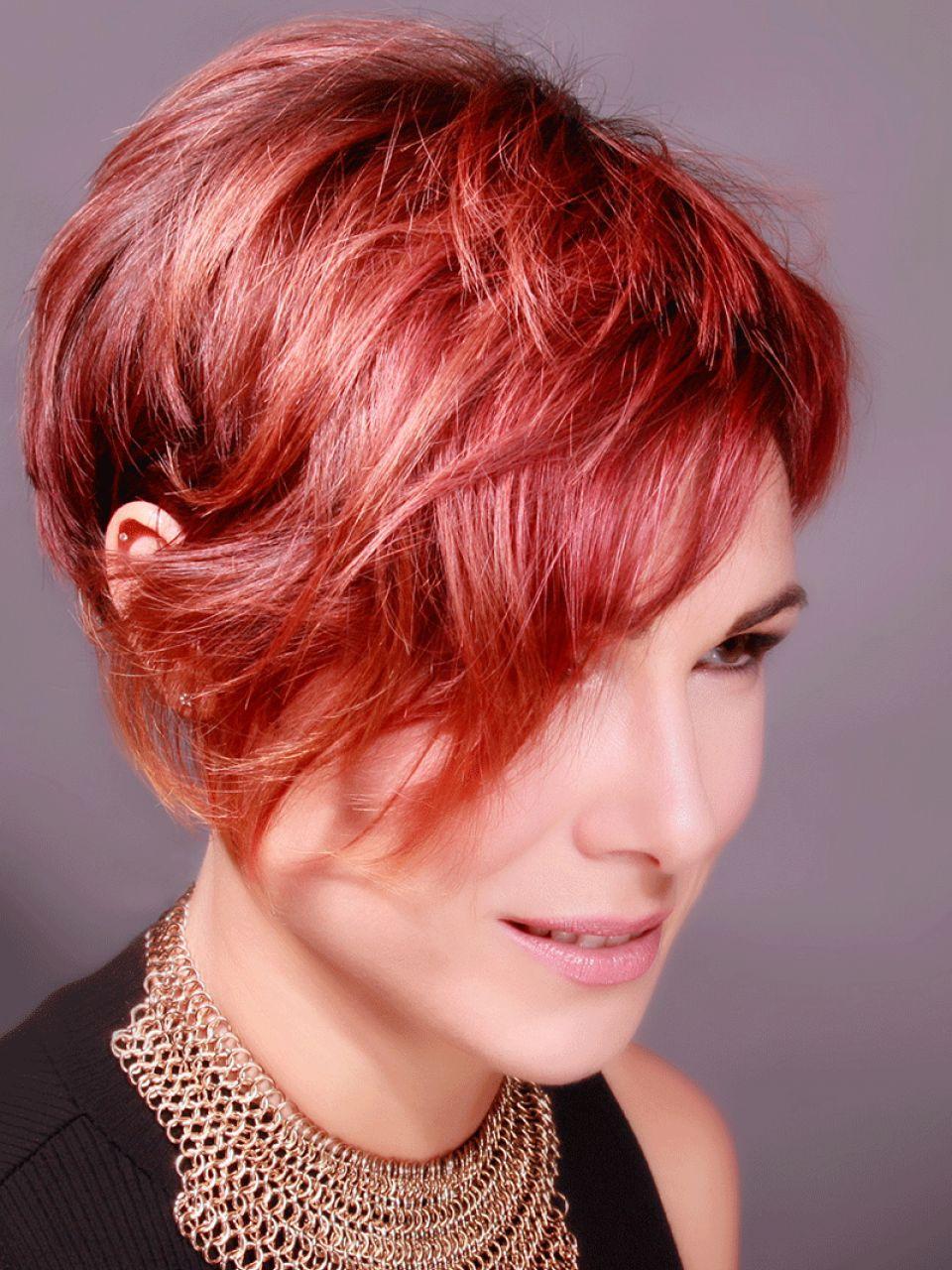 Frauen haare frisuren rote Niedlich Frisuren