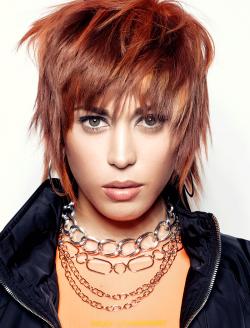Rote Fransige Haare Damen Friseurcom