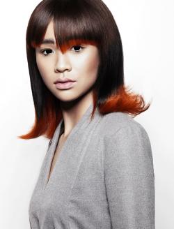 Braune Mittellange Haare Damen Friseurcom