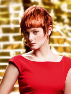 Rote Kurzhaarfrisuren Damen | Friseur.com