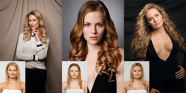 Presseinformation Festliche Frisuren Mit Hairtalk Extensions
