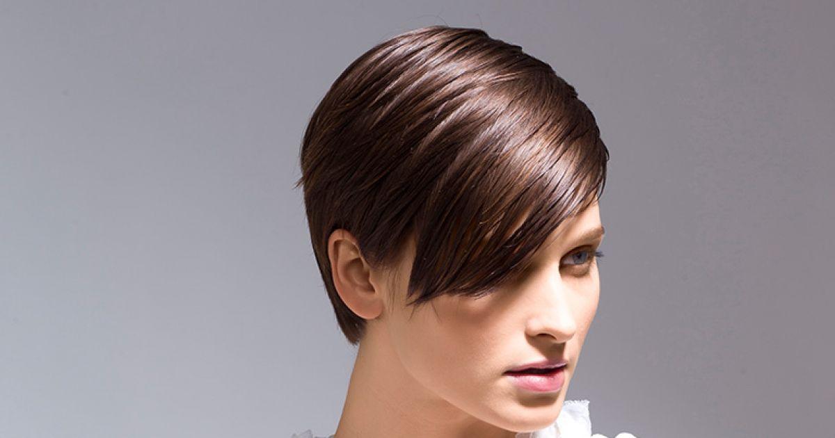 Frauen braune haare kurzhaarfrisuren Braune Kurzhaarfrisuren