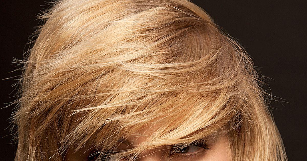 Für dickes haar stufenschnitt Dickes Haar:
