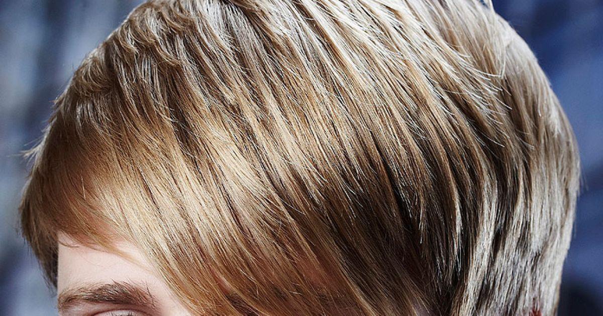 Frisuren blond braun gestrahnt