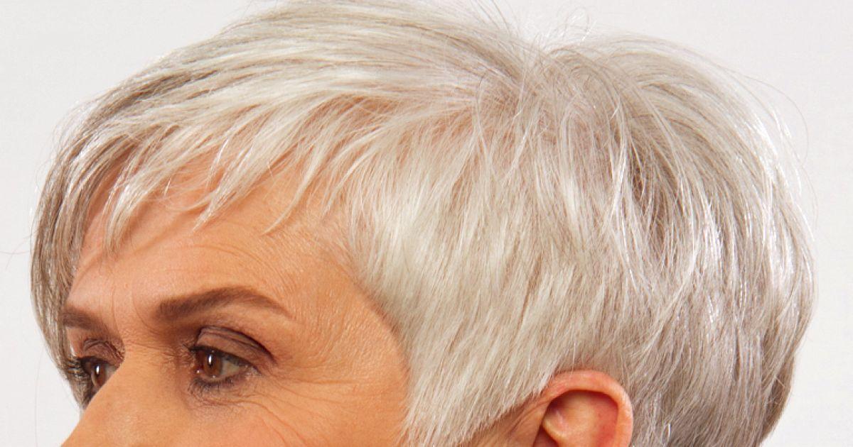 Die besten frisuren fur graue haare