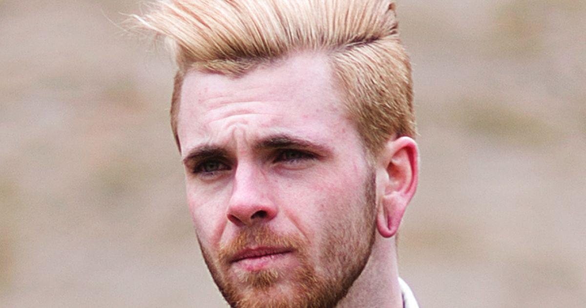 Herren frisur blond 2020