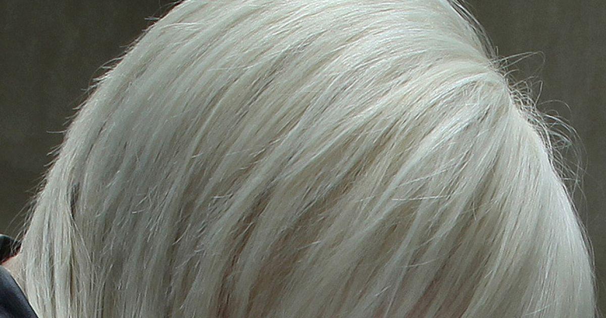 Damen grau haare kurze Frisuren Kurzhaar