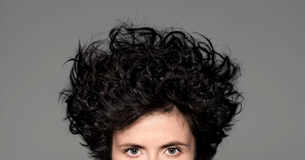 Frauen locken haare kurze Kurze Haare