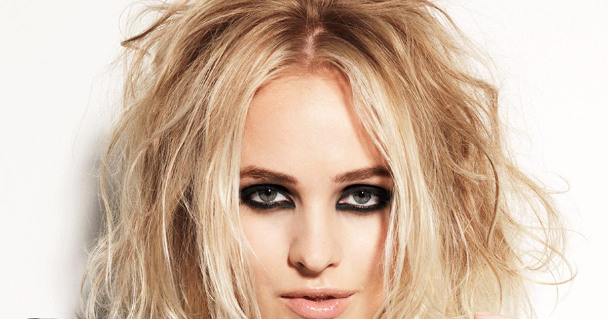 Schulterlange haare blond