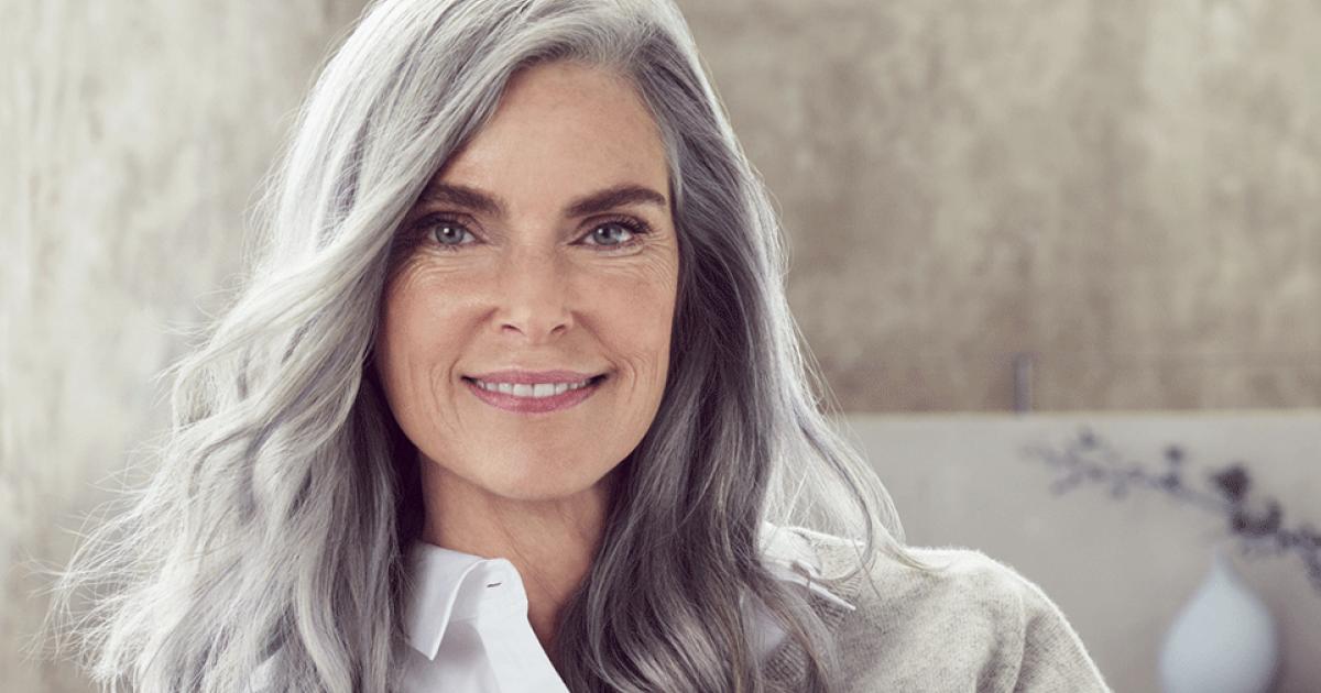 Frisuren graue haare halblang - Beliebte Frisuren 2020